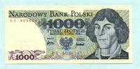 1000 Zlotych 2.7.1975 Polen,  Unc  22,00 EUR  +  7,00 EUR shipping