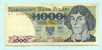 1000 Zlotych 1.6.1979 Polen,  III  3,00 EUR  +  7,00 EUR shipping