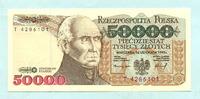 50000 Zlotych 16.11.1993 Polen,  Unc  19,50 EUR17,50 EUR  +  7,00 EUR shipping