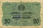 20 Leva Slato (1916)(1919 Bulgarien/Serbie...