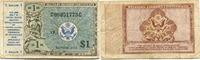 1 Dollar (1948) USA, Militärgeld, gebraucht