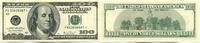 100 Dollars 2003 USA,  Unc