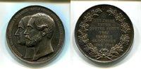 Ag.-Medaille, 1869 Schaumburg-Lippe, Adolf...
