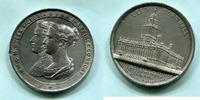 Zn.Medaille 1858 Großbritannien, Eröffnung...