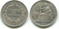 Piaster 1898 Französisch Indochina,  ss/vz