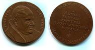 Br.Medaille (1984) DDR, Papst Johannes XXI...