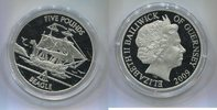 "5 Pounds 2009 Guernsey, ""HMS Beagle&q..."