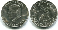 300 Guaranies 1973 Paraguay, Alfredo Stroe...