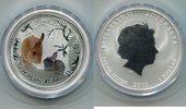 1 Dollar 2011 Australien, Jahr des Hasen-L...