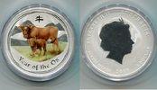 1 Dollar 2009 Australien, Jahr des Ochsen-...