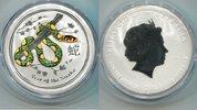 1 Dollar 2013 Australien, Jahr der Schlange-Lunar II, st  35,00 EUR  +  7,00 EUR shipping