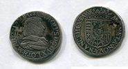 Teston 1628 Lothringen / Nancy ~ Charles I...