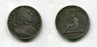 Silber Jeton 1739 Frankreich ~ Louis XV. 1...