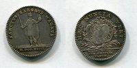 Silber Jeton 1747 Frankreich ~ Louis XV. 1...