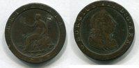1 Penny 1797 Großbritannien ~ Georg III. ~...