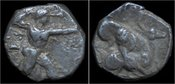 stater ca 425-400B Cyprus Cyprus Kition Ballmelek II AR stater VF+