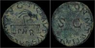 quadrans 41-54AD Roman Claudius AE quadran...