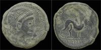 AS 2nd cent BC Spain Spain Castulo AE AS VF+