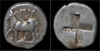 tetrobol 357-340BC Thrace Thrace Byzantion AR tetrobol EF  109,00 EUR free shipping