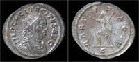 antoninianus 275-276AD Roman Tacitus silve...