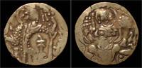 dinar after 400AD Kushan Kingdom Kushan Kingdom Kidarites AV dinar VF  459,00 EUR free shipping