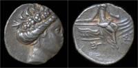 tetrobol 300-200BC Histaia Euboia Histaia ...