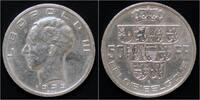50 frank 1939 Belgium Belgium Leopold III ...