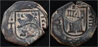 8 maravedis 1641 Spain Spain Philip IV AE ...