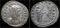 antoninianus 270-275AD Roman Aurelian silv...