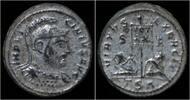 AE3 308-324AD Roman Licinius I silvered AE...