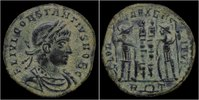 AE17 337-355AD Roman Constantius II AE17 VF