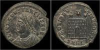 AE17 337-350AD Roman Constantius II AE17 VF
