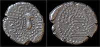 drachm 9th cent AD India India Chalukyas o...
