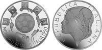 200 LIRE 1989 ITALIEN XIV. FUSSBALL WM 199...