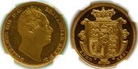1831  GREAT BRITAIN: WILLIAM IV PROOF HAL...