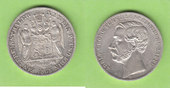 Vereinstaler 1865 Schaumburg-Lippe hübsch, selten vz+