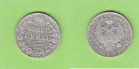 Rubel 1842 Russland  ss-, Randfehler