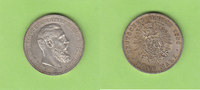 5 Mark 1888 Preußen 99-Tage-Kaiser Friedri...