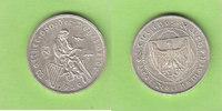 3 Reichsmark 1930 G Weimarer Republik Walt...