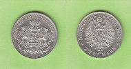 2 Mark 1888 Hamburg toll erhalten, sehr se...