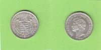 1/6 Taler 1856 Sachsen toll erhalten st/fa...