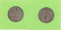 1 Kreuzer 1819 Hessen-Darmstadt toll erhal...