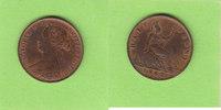 Half Penny 1862 Großbritannien hübsch gute...