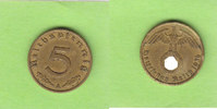 5 Reichspfennig 1936 A Drittes Reich selte...