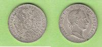 1/4 Gulden 1858 A Österreich toll erhalten...