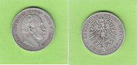 2 Mark 1884 Preußen seltener Jahrgang ss-