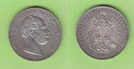 Vereinstaler 1861 Preußen hübsch vz/fast vz