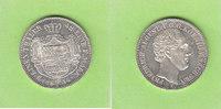 1/3 Taler 1854 Sachsen Prachtexemplar, sel...
