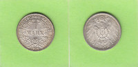 1 Mark 1906 G Kaiserreich toll erhalten, s...