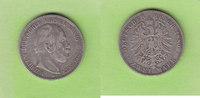 2 Mark 1880 Preußen besserer Jahrgang fast...